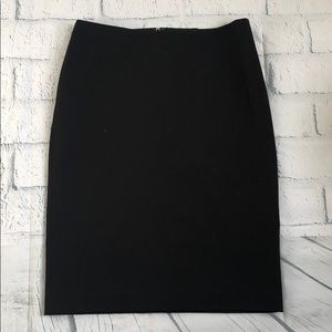 NWT - Talbots Pencil Skirt Sz 8 Black